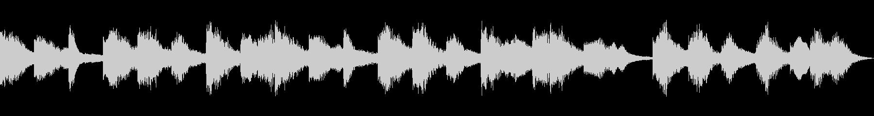 セクシー怪しいシンセCM 15秒の未再生の波形