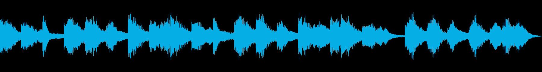 セクシー怪しいシンセCM 15秒の再生済みの波形