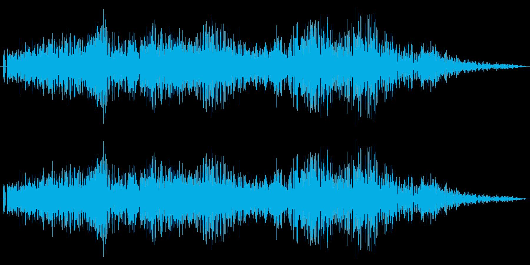 【レース】車のシフトダウン効果音!01の再生済みの波形