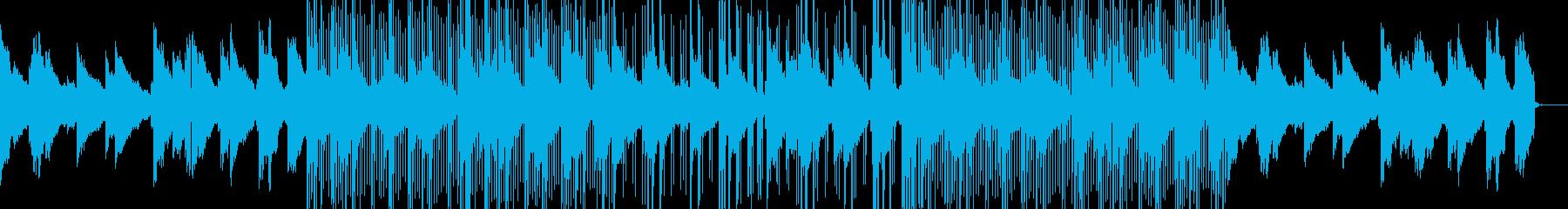 優しさ漂うlo-fi hip hopの再生済みの波形
