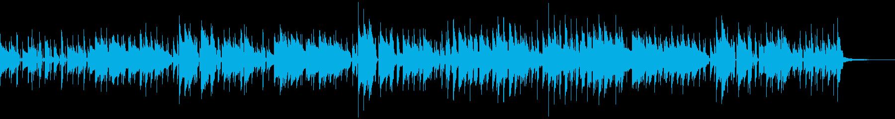 クラビネットが印象的なフュージョンの再生済みの波形