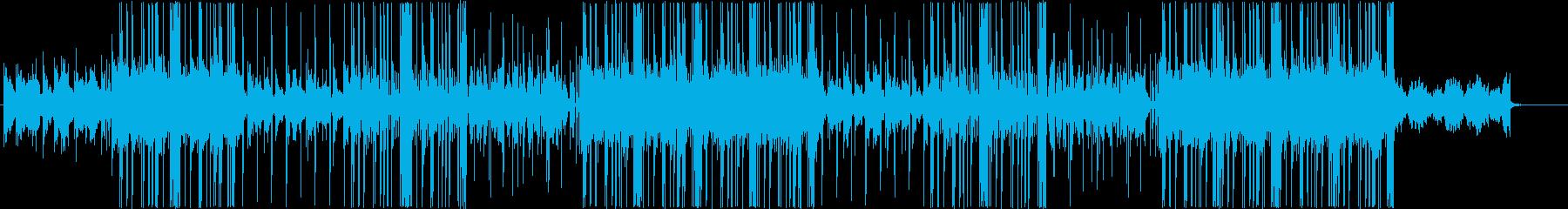 ローファイ、チルアウト、R&Bビート♪の再生済みの波形