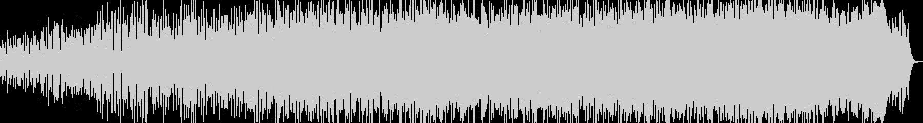 レトロフューチャー風のミニマルテクノの未再生の波形