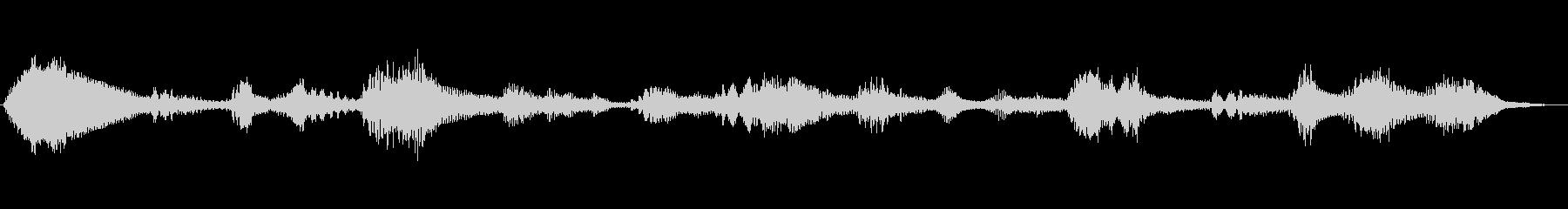 緊張 お辞儀金属01の未再生の波形
