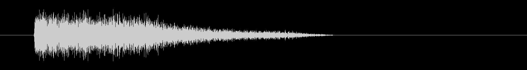 レーザー音-79-3の未再生の波形