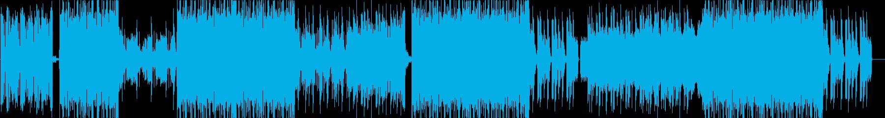 電気楽器。風変わりな、多忙な、ロボ...の再生済みの波形