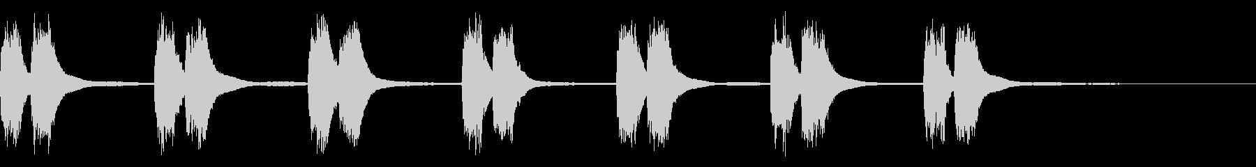 ビンテージ1930年代のベークライ...の未再生の波形