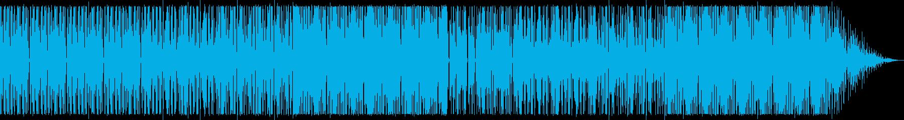 ビートの強いヒップホップ_No445の再生済みの波形