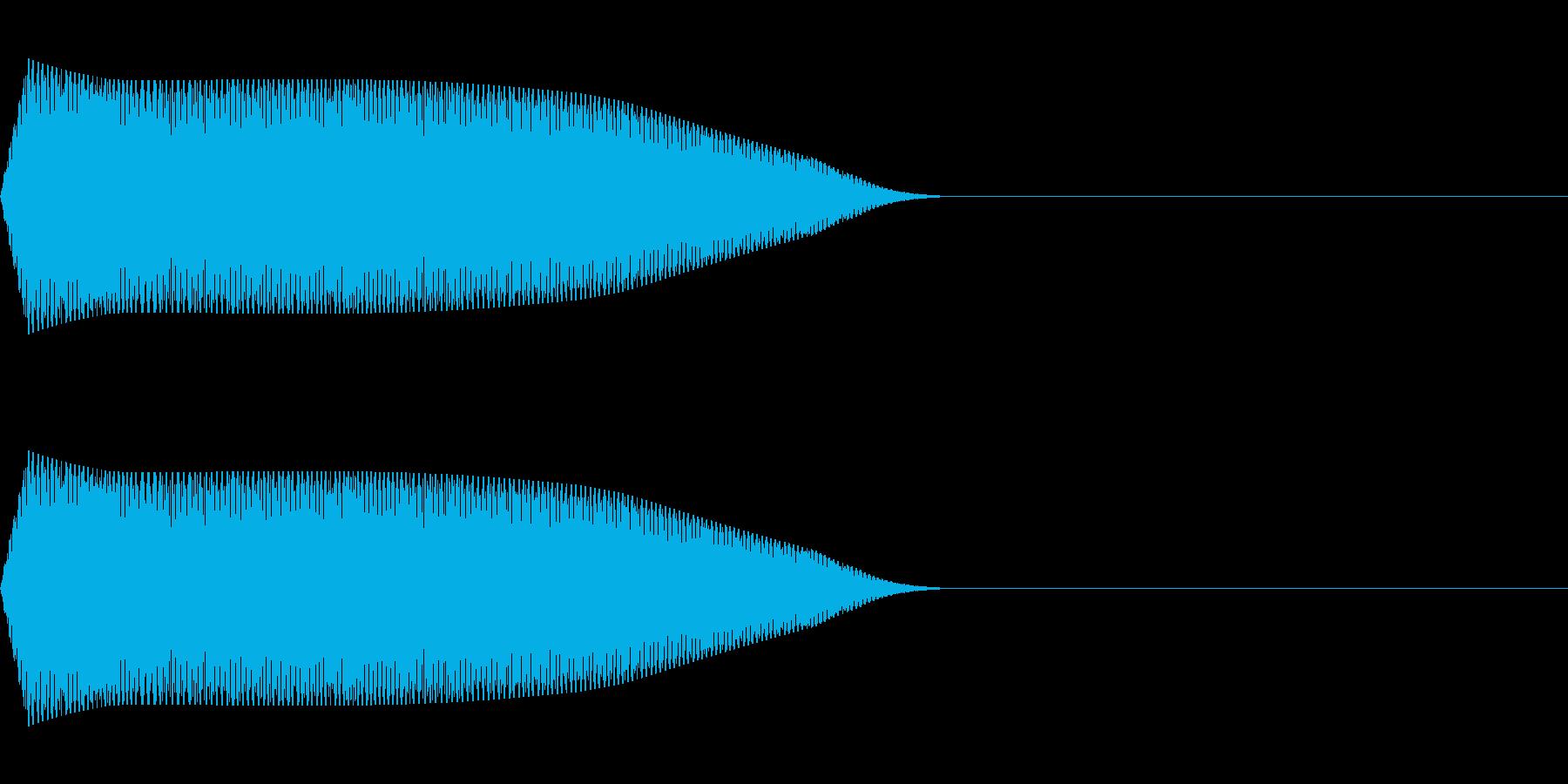 ピピッ(鳴き声/動物ピコピコ/ファミコンの再生済みの波形