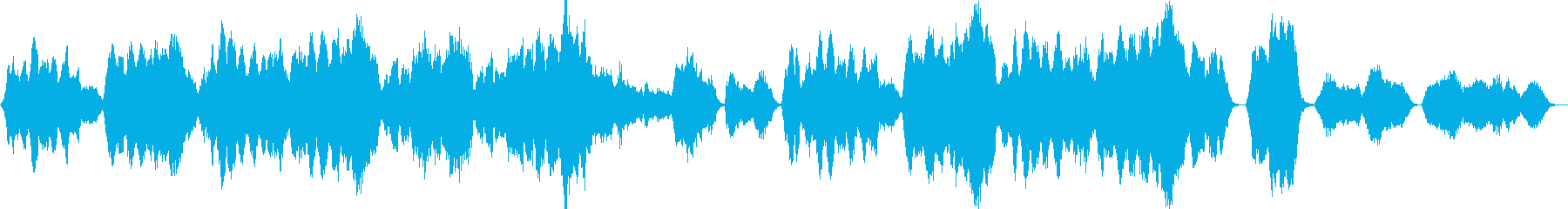 Andante Cantabile's reproduced waveform