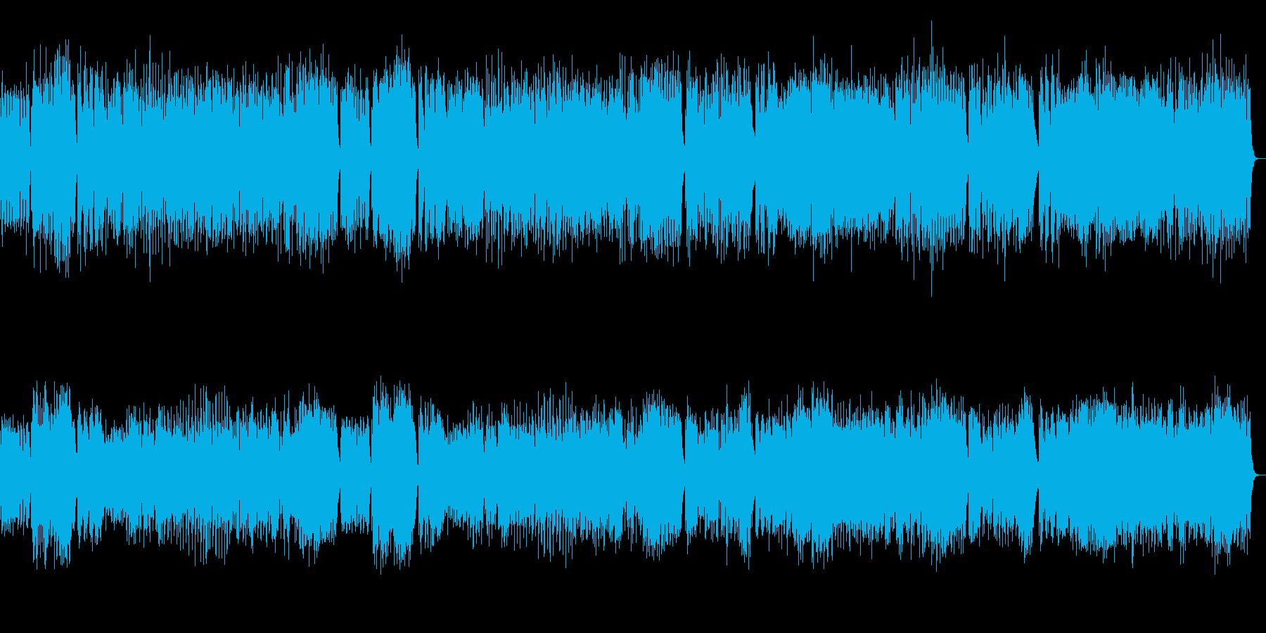 華やかなチェンバロ スカルラッティの再生済みの波形
