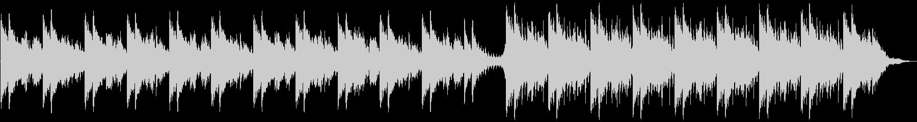 ピアノ・ストリングス・カメラ・VLOGの未再生の波形