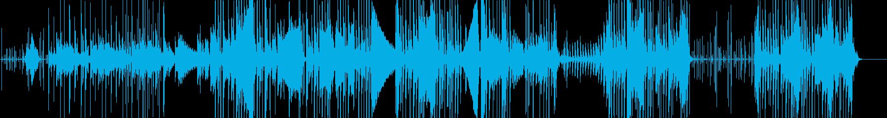 コメディーの「こっそり」の要素を持...の再生済みの波形