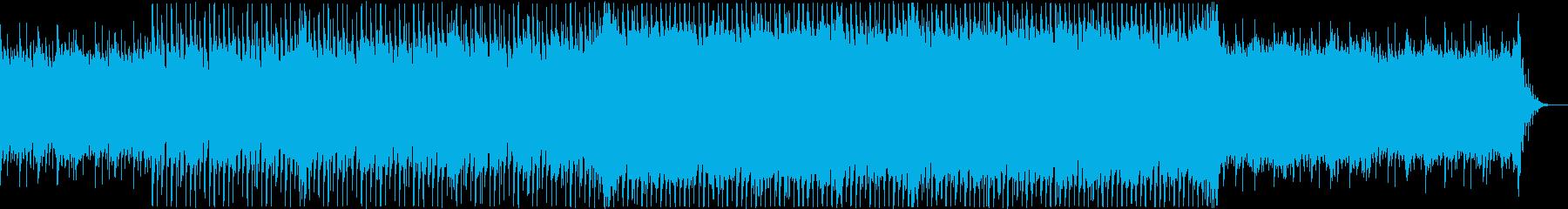 爽やかなエレクトロ、企業VPの再生済みの波形