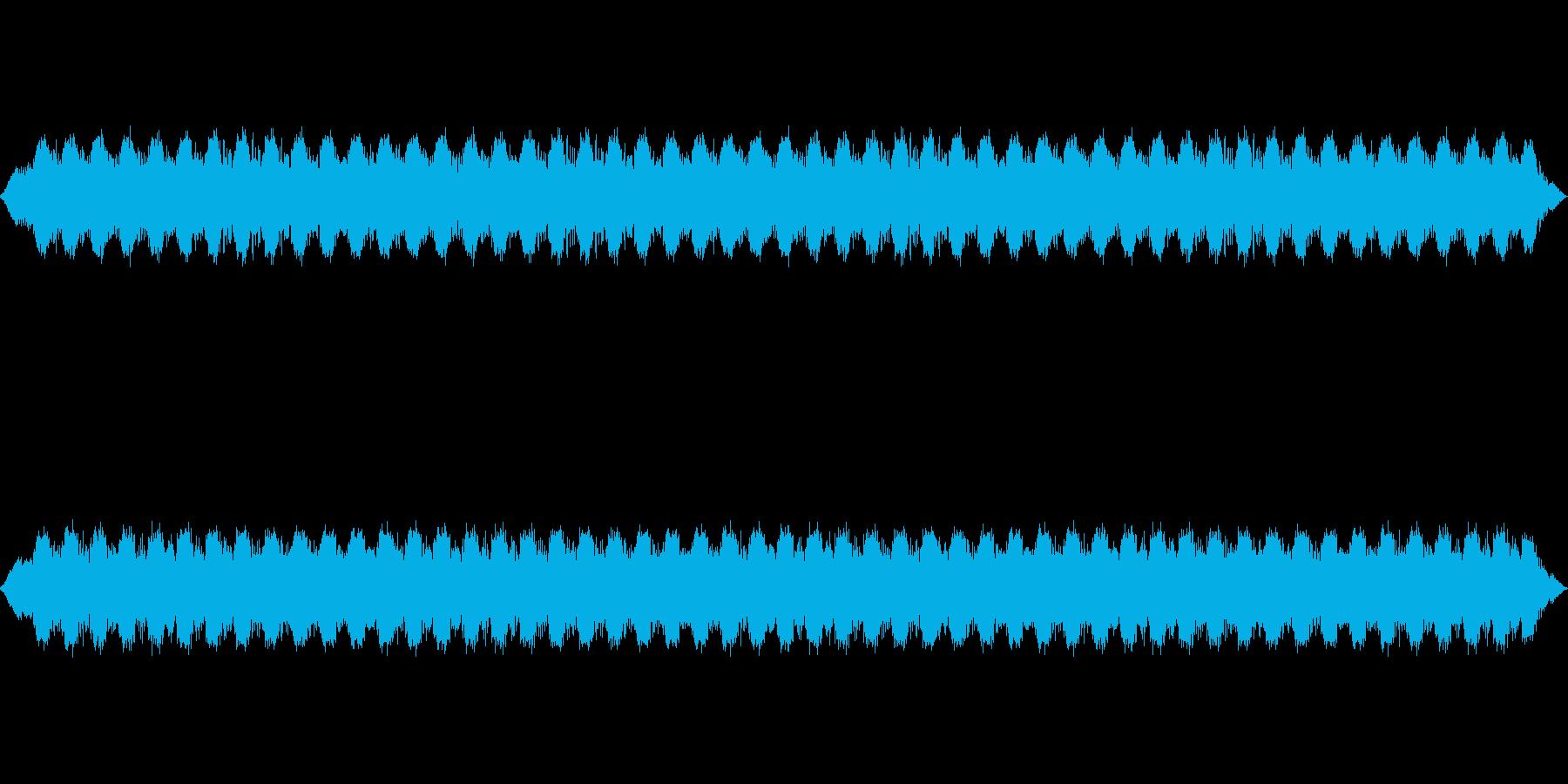 漫画のサイレンの再生済みの波形