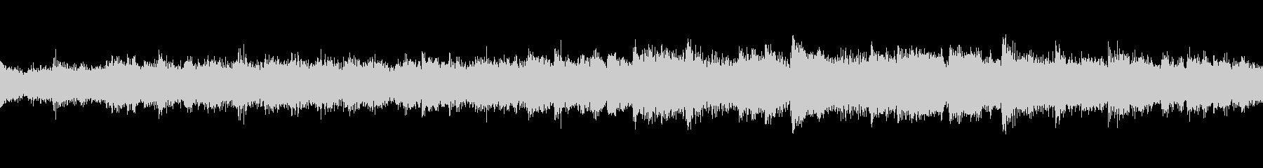 スピリチュアル系 ループBGMの未再生の波形