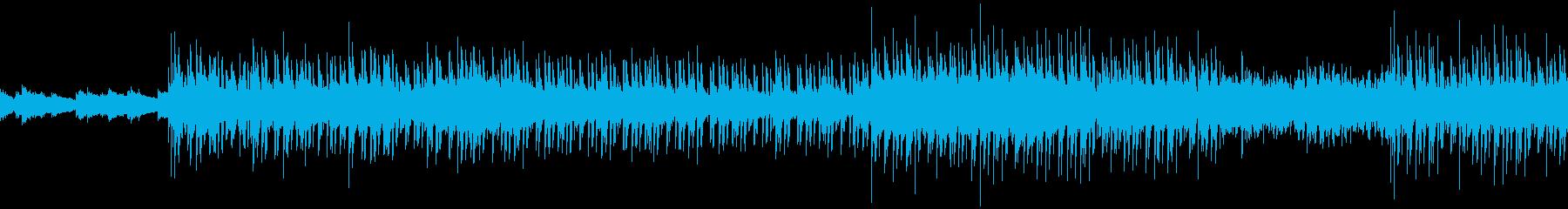 ループ仕様:夏の夜をイメージしたチル楽曲の再生済みの波形