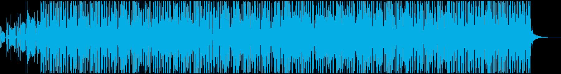 ポップ テクノ ブレイクビーツ ド...の再生済みの波形