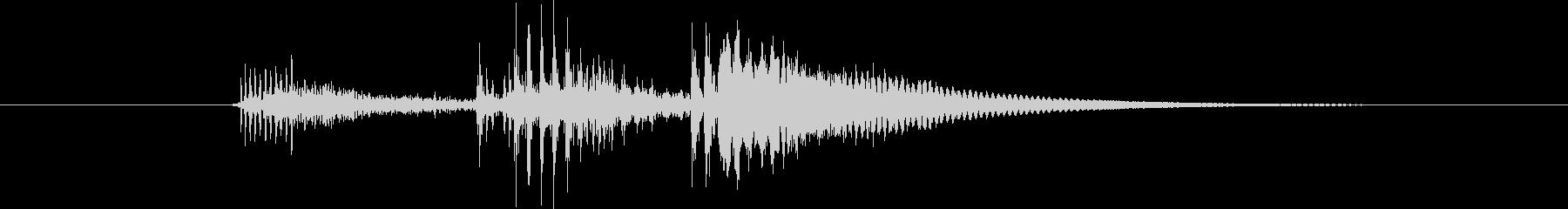 コルク栓やスクリューキャップを抜く音04の未再生の波形