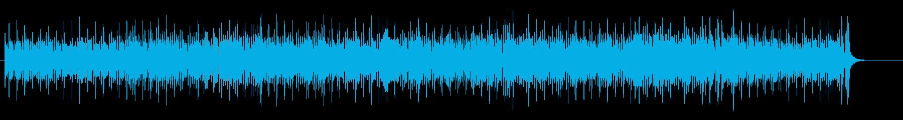 穏やかなボサノバ風リゾート・ポップの再生済みの波形