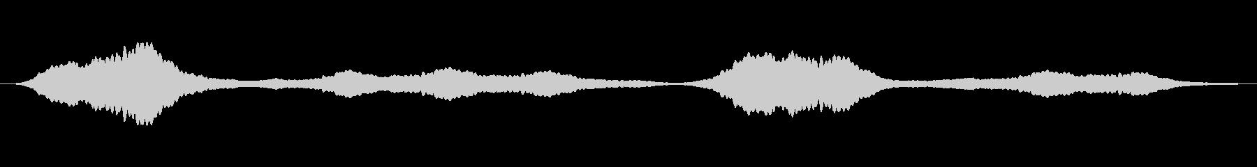 クリスタルの輝き シンプル ループの未再生の波形