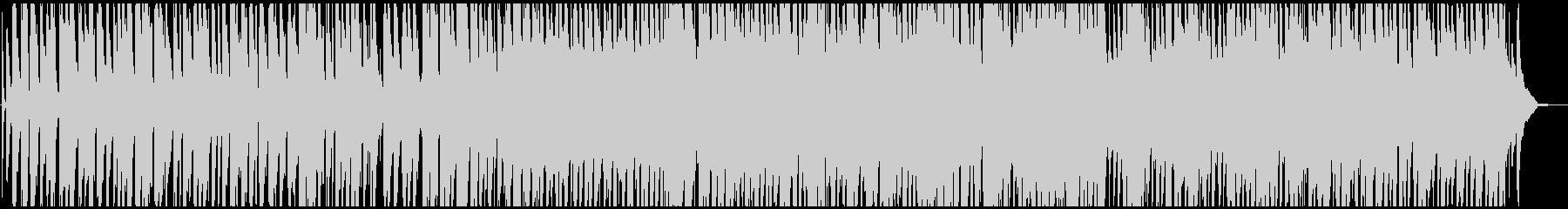 クールで軽快なジャズカルテットの未再生の波形