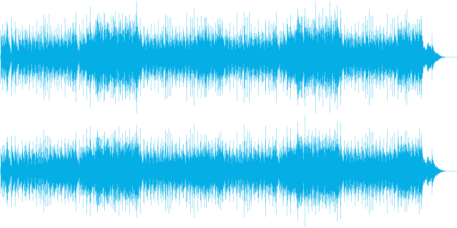 シックなスロー・バラードの再生済みの波形