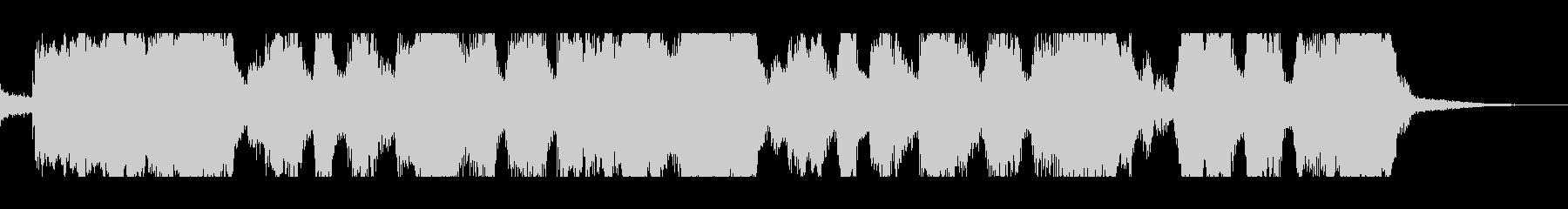 テンポのいいスカポップ ジングル CMの未再生の波形