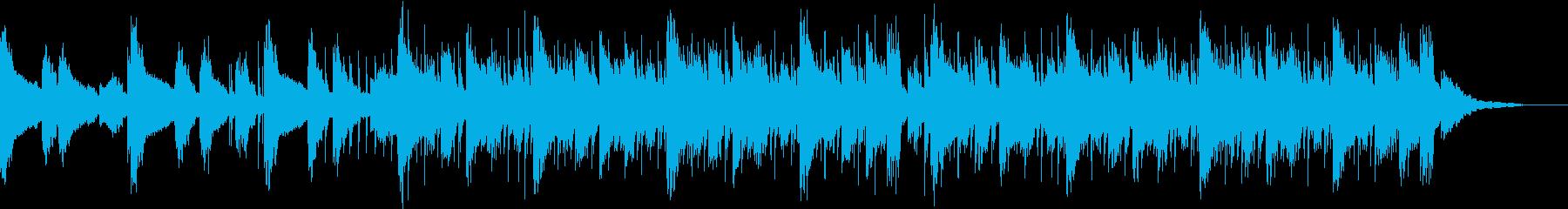 綺麗・知育・科学・サイエンスの再生済みの波形