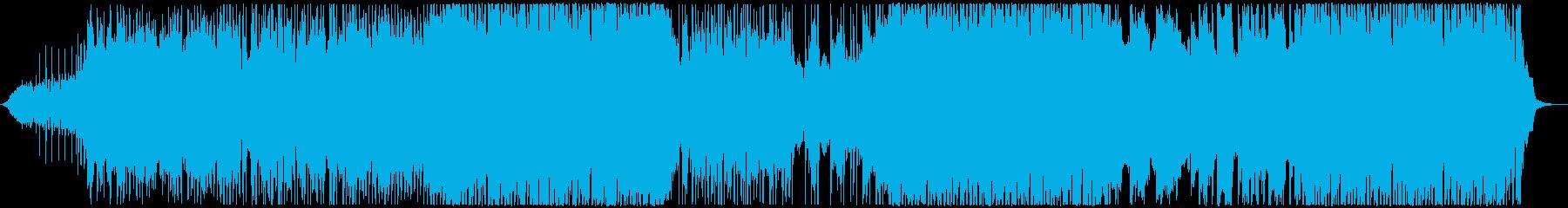 刺激的なモダンポップソング。現代の...の再生済みの波形