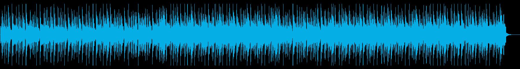 【リズム抜】ポコポコした浮遊感のある導入の再生済みの波形