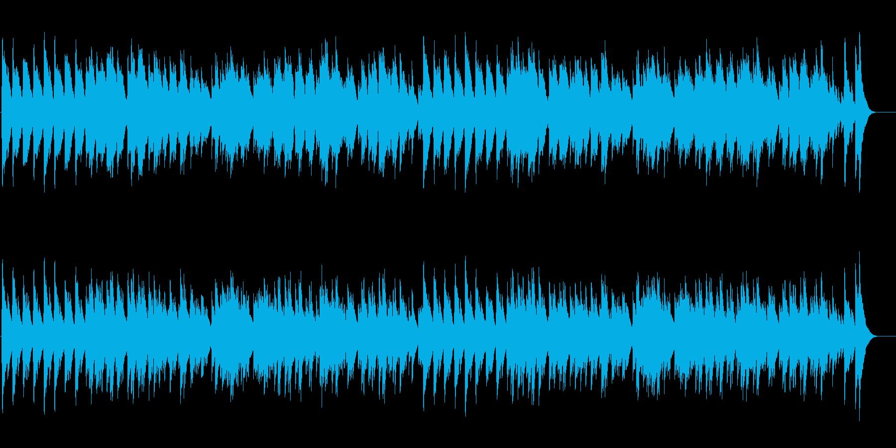ずいずいずっころばしの再生済みの波形