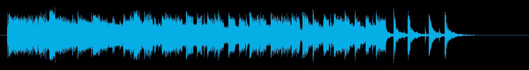 ドラマチック、ポップなソフトロックの再生済みの波形