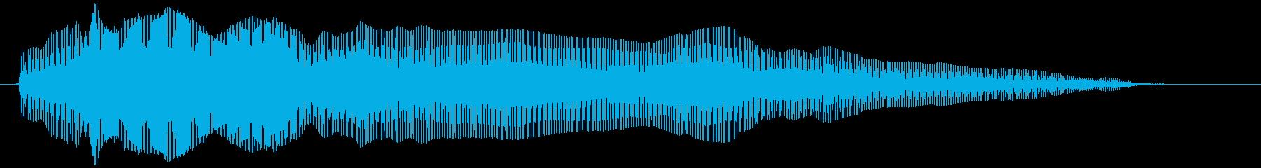 びっくりチキン特大 鳴き声(長め)の再生済みの波形