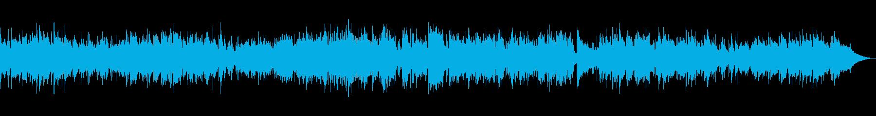 『広い河の岸辺』ピアノソロ演奏の再生済みの波形