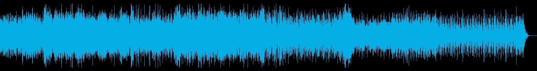 不思議でダークなシネマティックBGMの再生済みの波形