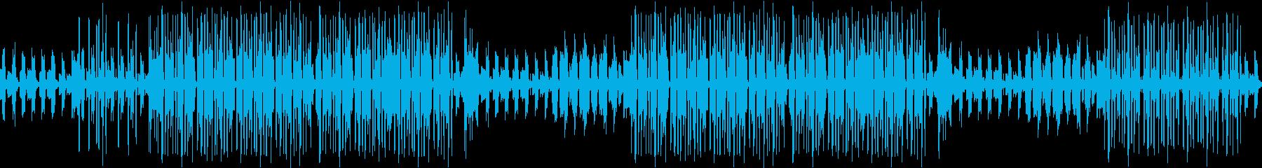 生音ギター・カフェ・シンプル・ループの再生済みの波形