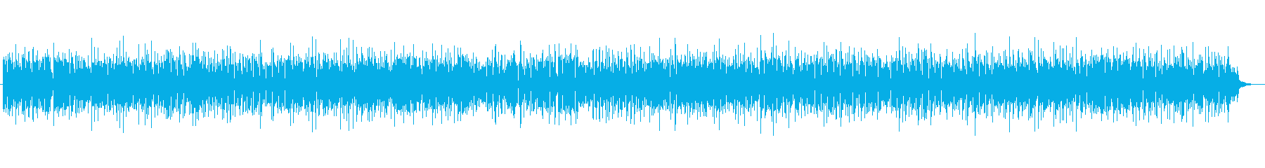 疾走感あるアコースティックギターの再生済みの波形