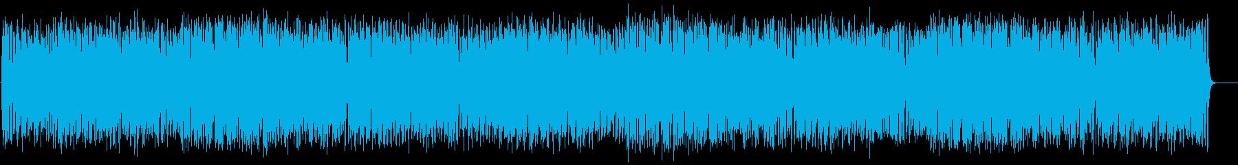 バカンスを満喫するラテン/ポップの再生済みの波形
