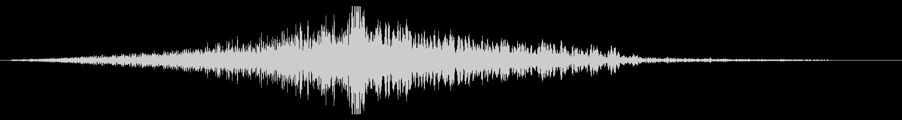 ホラー系アタック音116の未再生の波形