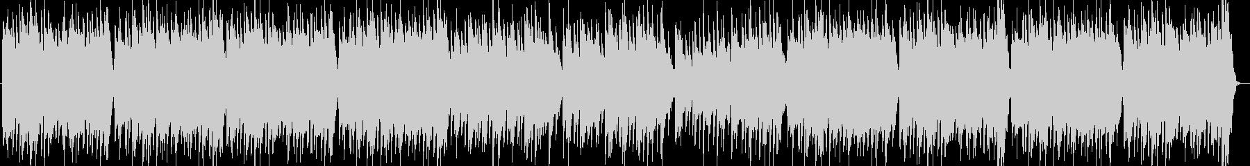 ファンタジー感のあるもの悲しいオカリナ曲の未再生の波形