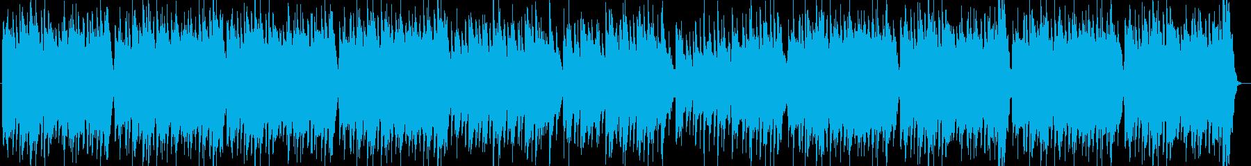 ファンタジー感のあるもの悲しいオカリナ曲の再生済みの波形