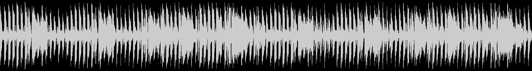 軽快ほのぼの温かい口笛ウクレレ(ループの未再生の波形