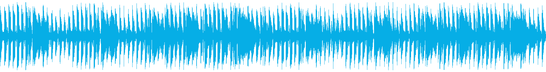 軽快ほのぼの温かい口笛ウクレレ(ループの再生済みの波形