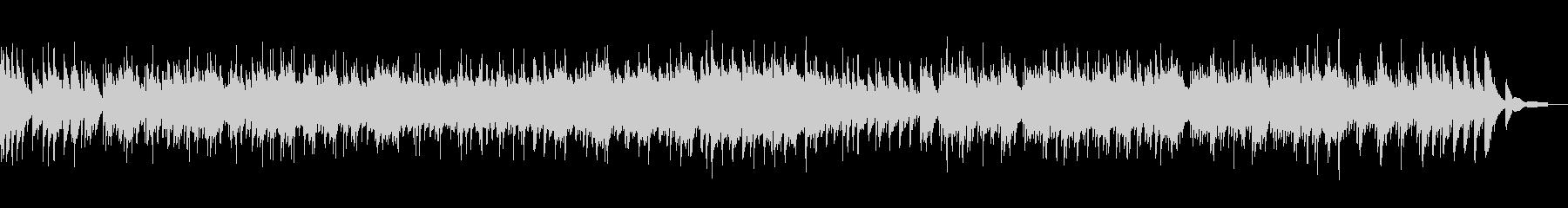 和風第九ベートーベンの琴カバーの未再生の波形