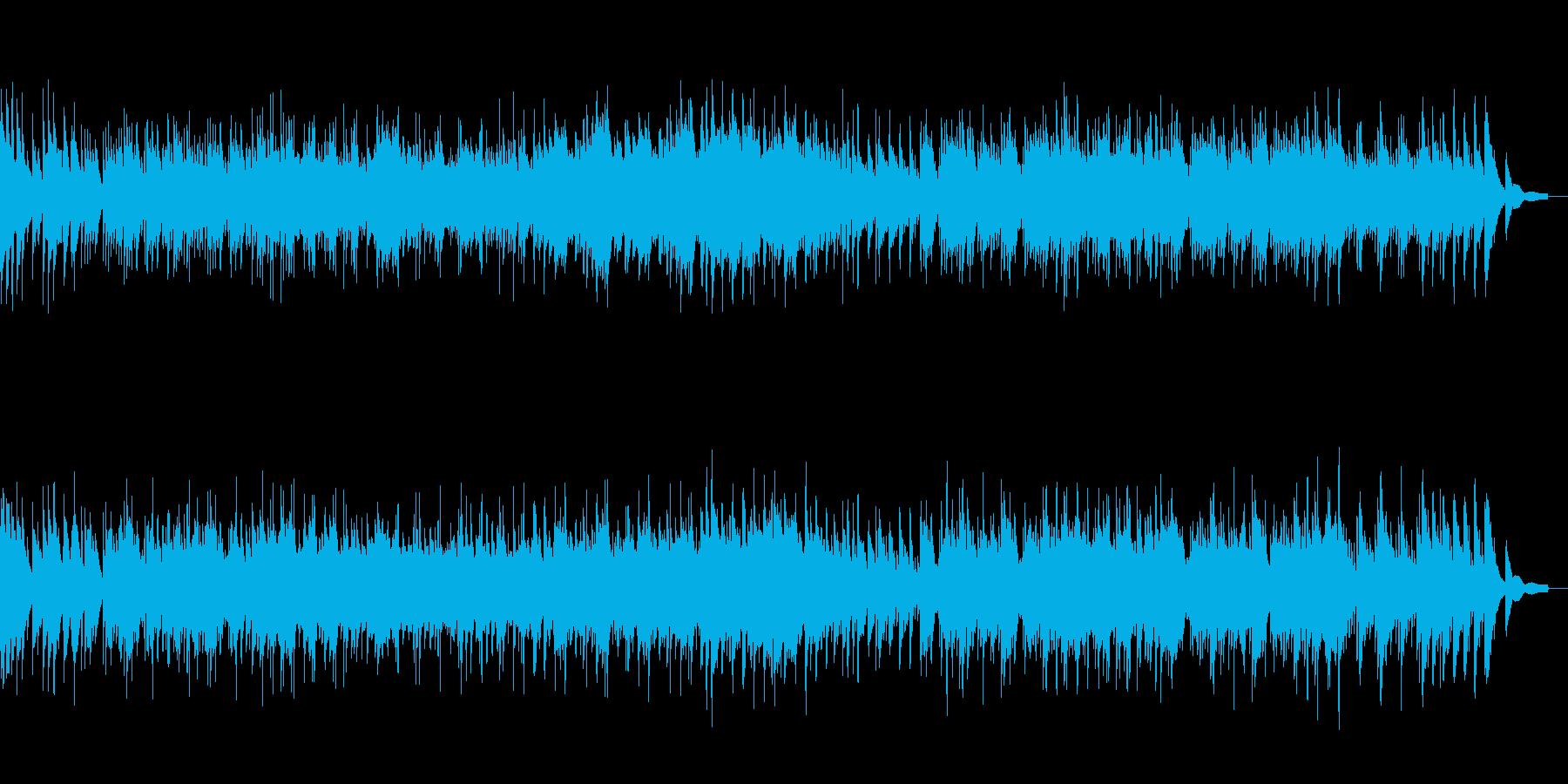 和風第九ベートーベンの琴カバーの再生済みの波形