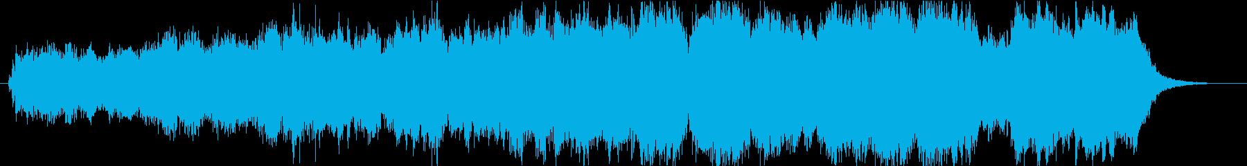 勝利者フィナーレのオーケストラの再生済みの波形