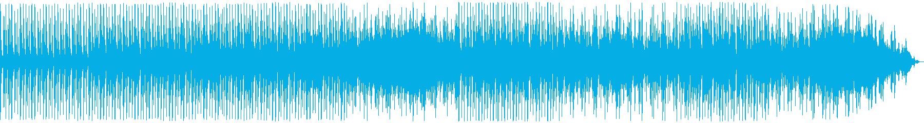 For news, traffic information, information video radio, etc.'s reproduced waveform