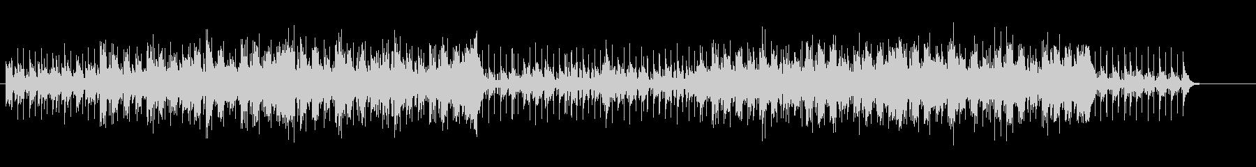サヴァンナにトリップする民族音楽風の未再生の波形