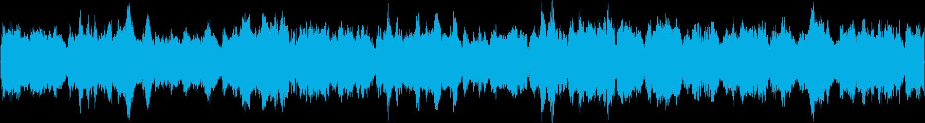 中国風のループ用BGMの再生済みの波形